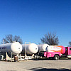 Pink Froman Propane Truck