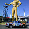 Tulsa Driller w/froman propane powered truck