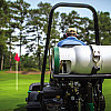 propane tank on mower